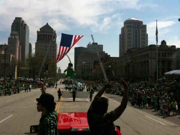 St. Patrick's Day Parade in St. Louis